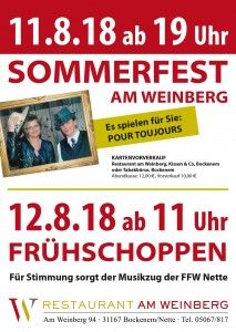 Sommerfest 2018_Restaurant am Weinberg